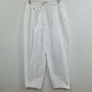 Karen Scott women's white dress slacks size 16